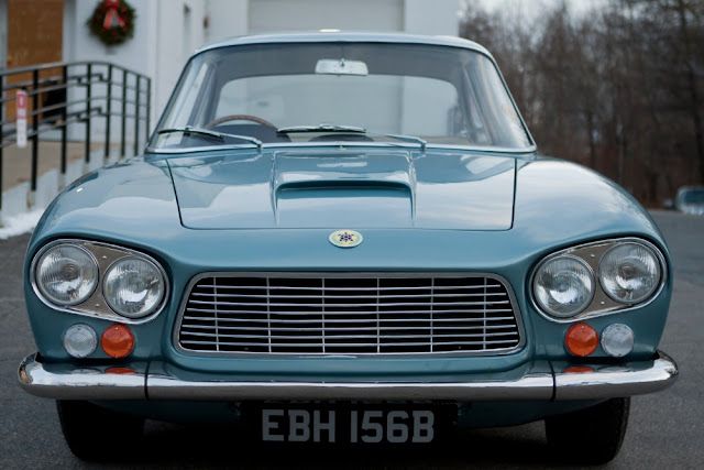 Gordon-Keeble 1960s British classic car