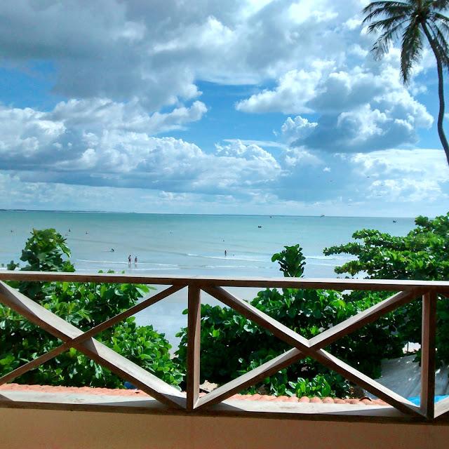 Vista do nosso quarto - Pousada Capitão Thomaz, Jericoacoara, Ceará