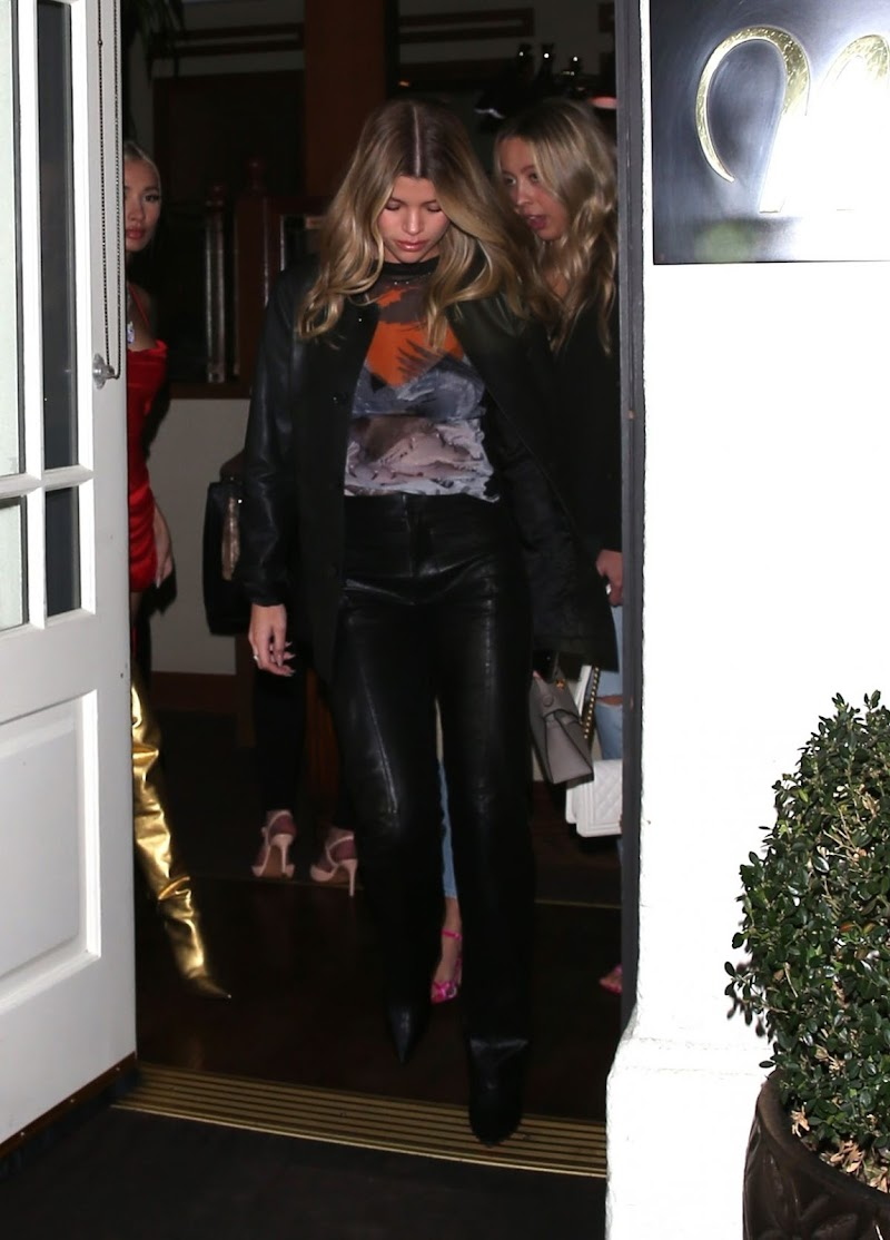 Sofia Richie Leaves Madeo Restaurant in Beverly Hills 27 Feb-2020