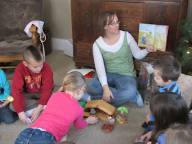 Co-Op Christmas Party 2012-Game ideas for kid's parties. The Unlikely Homeschool