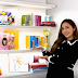 Jessica Jung unveils her colorful Bookshelf