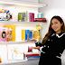 Jessica Jung unveils her colorful Bookshelf