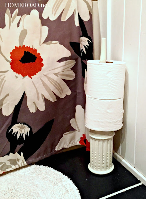 A Stylish DIY Toilet Paper Roll Holder www.homeroad.net