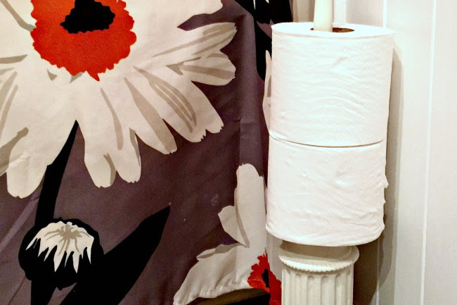 A Stylish DIY Toilet Paper Roll Holder