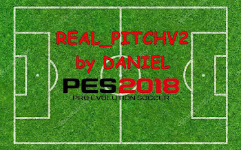Real Pitch | V2 | PES2018 | By Daniel [24.07.2018]