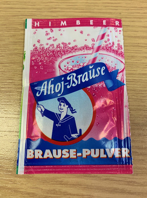 Ahoj Broase Himbeer Brause-Pulver
