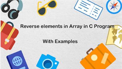 Reverse elements in Array