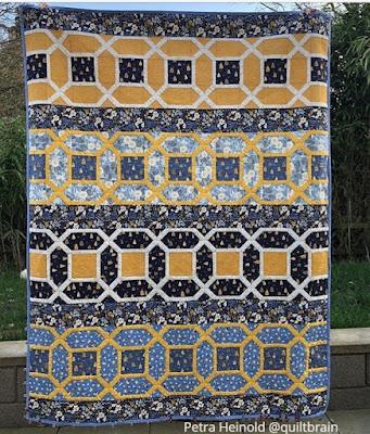 Amazing Rows quilt Sew Joy Creations pattern Honey Bee fabric Rae Ritchie Dear Stella
