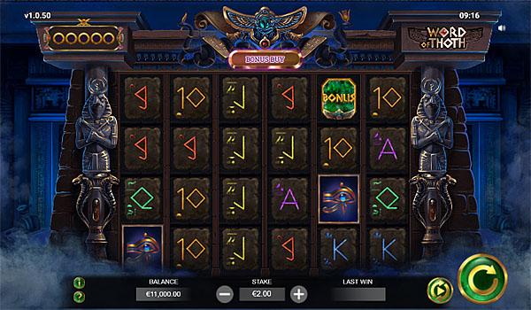 Main Gratis Slot Indonesia - Word Of Thoth Yggdrasil