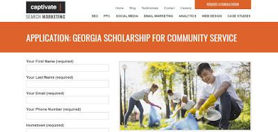 Georgia Community Service Scholarship