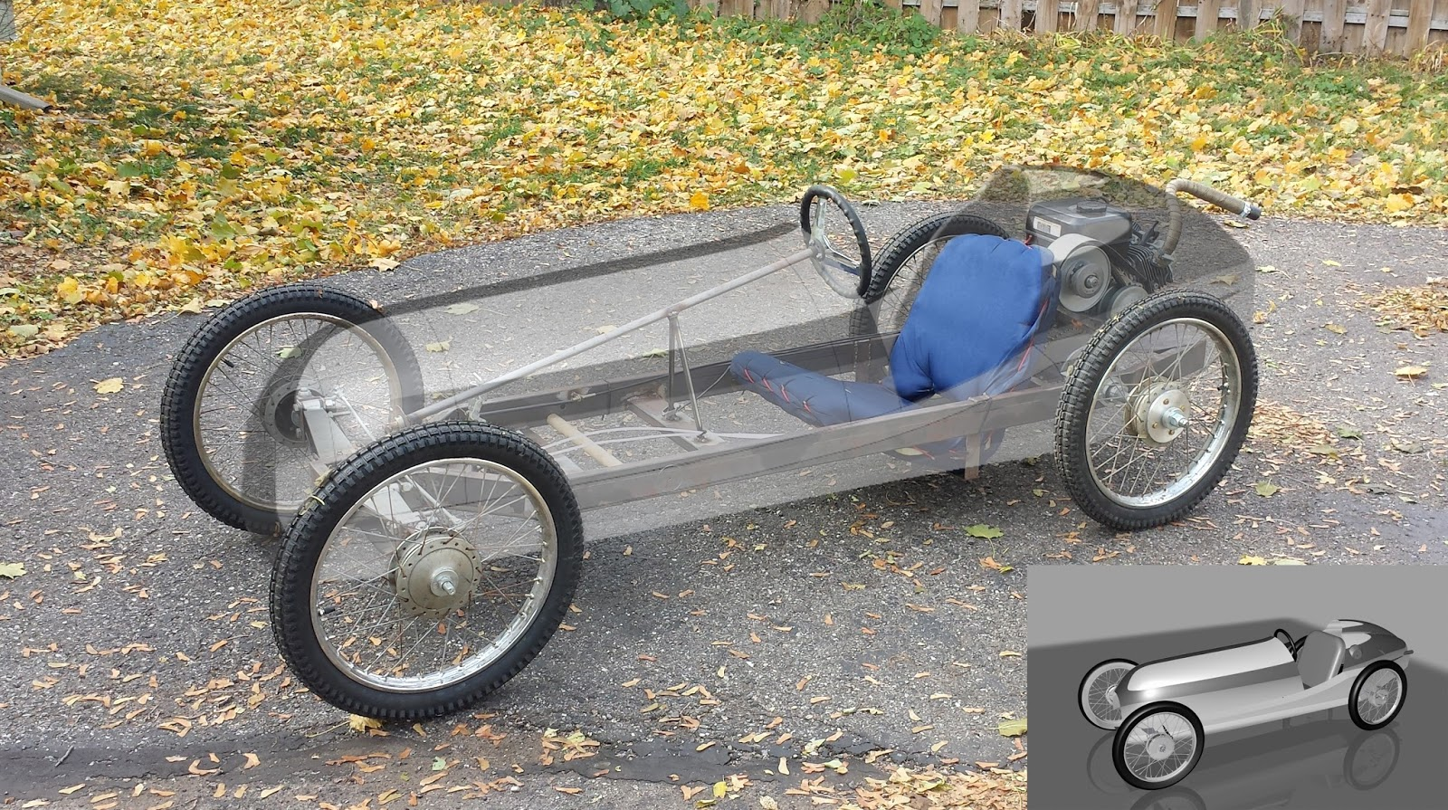 Cycle Kart Design: Legacy