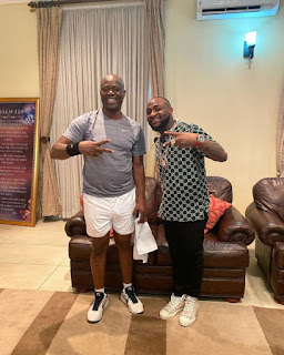 See photos of Gov Makinde chilling with Davido days before testing positive for coronavirus