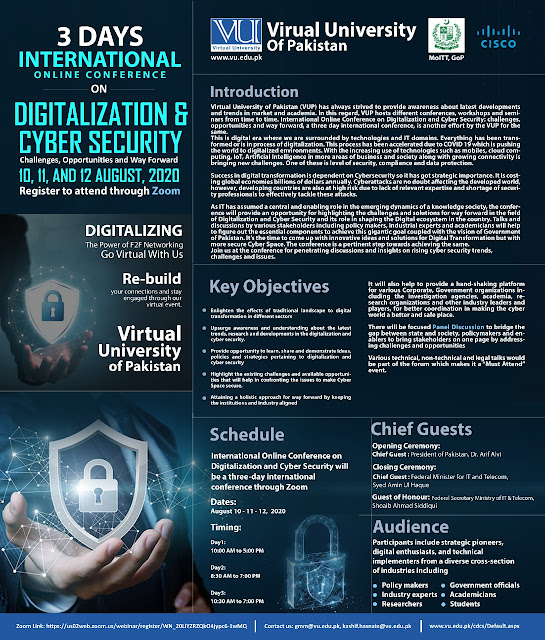 International Online Conference on Digitalization and Cyber Security