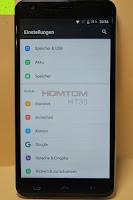 """Einstellungen Gerät Nutzer: HOMTOM HT30 3G Smartphone 5.5""""Android 6.0 MT6580 Quad Core 1.3GHz Mobile Phone 1GB RAM 8GB ROM Smart Gestures Wake Gestures Dual SIM OTA GPS WIFI,Weiß"""