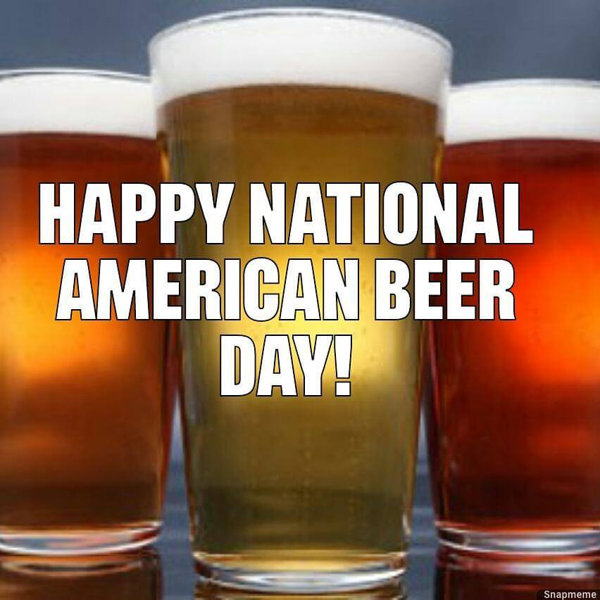 National American Beer Day Wishes Beautiful Image