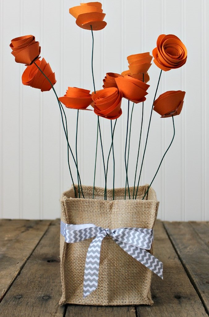 DIY Bunga Dari Kertas Memo