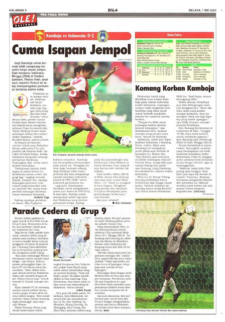 PRA PIALA DUNIA 2002 KAMBOJA VS INDONESIA 0-2
