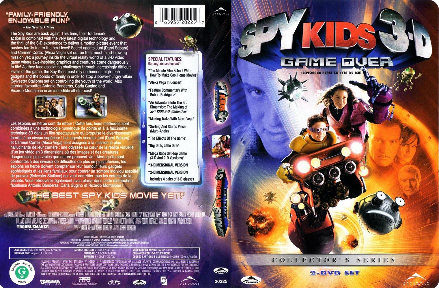 mi colection dvd: 3D