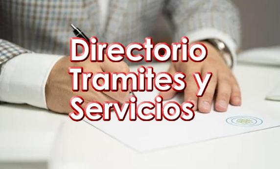 El Gobierno de Durango Directorio de Tramites y Dependencias