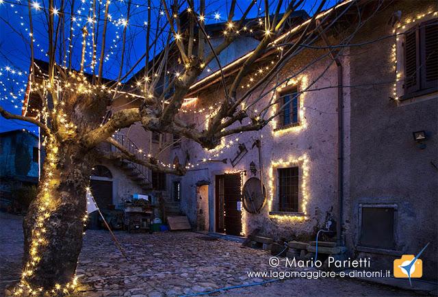 Luminarie di Natale al museo del Trotto di Cagno