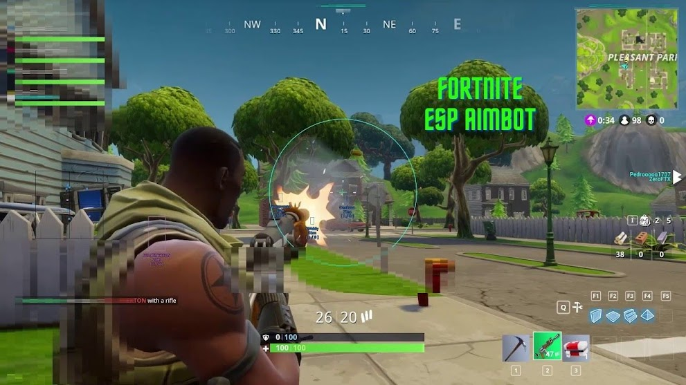 Fortnite hack, 4u4 Play (Esp/Aimbot/Fast Reload) Undetectable, New Update