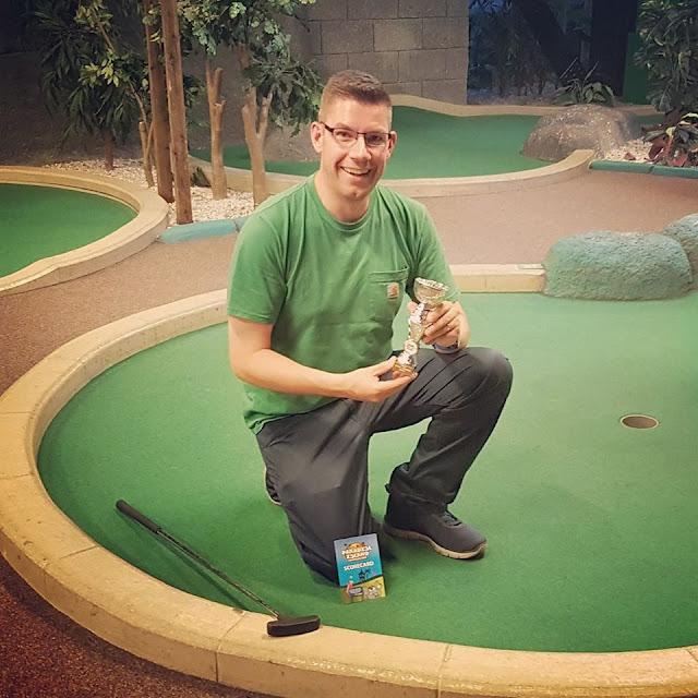 Richard Gottfried - Paradise Island Adventure Golf Open Champion in 2018