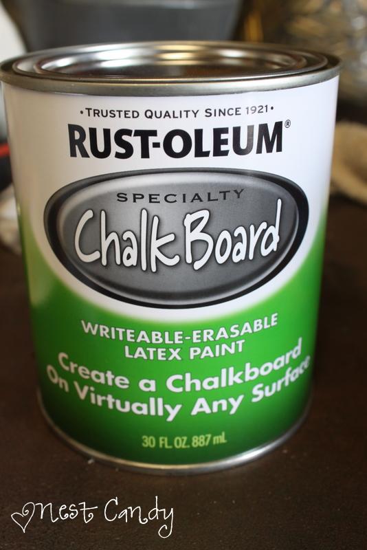 Brown Chalk Paint Kitchen Cabinets