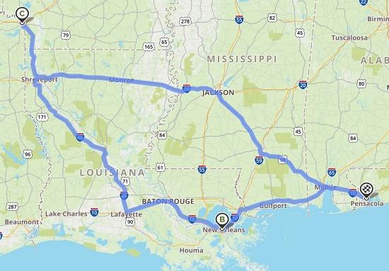 Road trip map #3