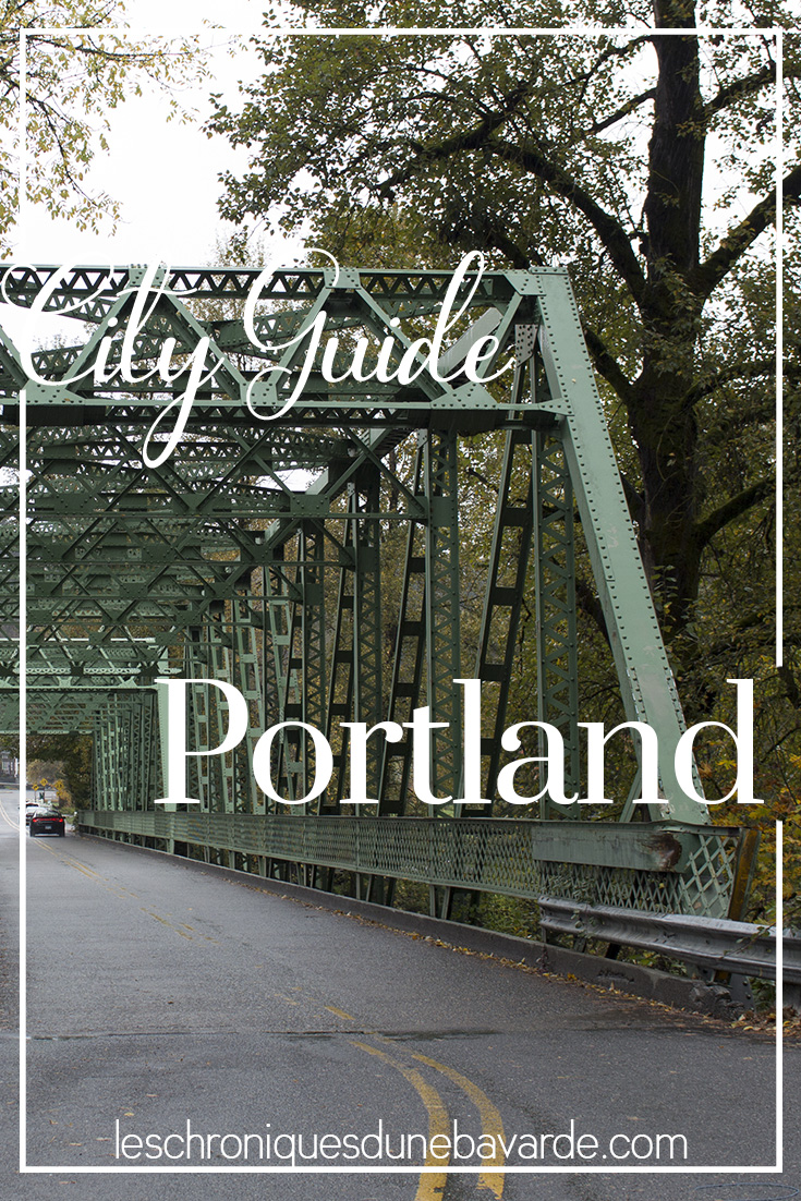 City guide voyage Portland USA
