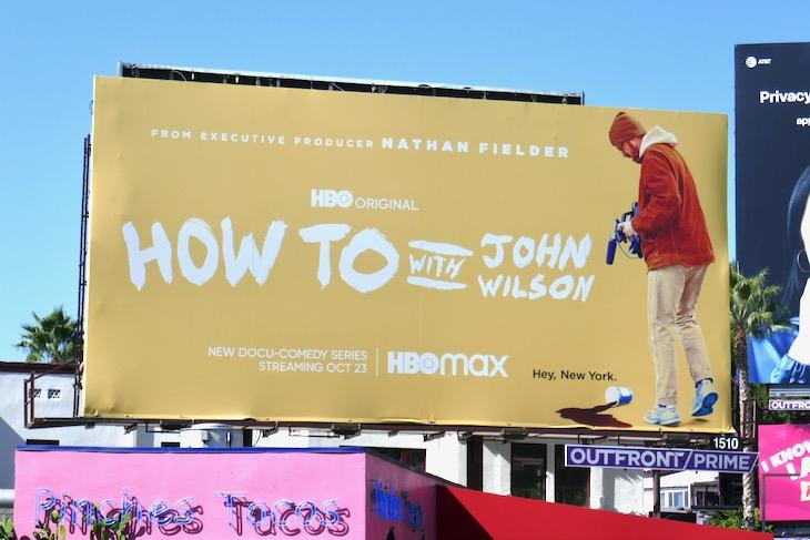 How To with John Wilson season 1 billboard