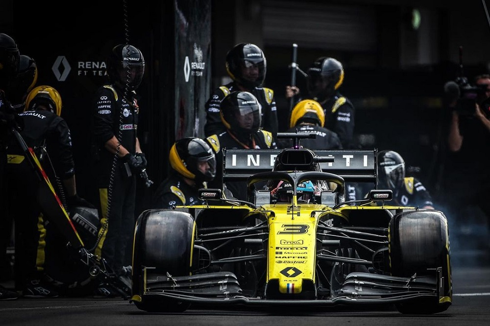 Infiniti to conclude its involvement in F1 at the end of 2020