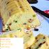 ක්රීම් චීස් සහ මිශ්ර පළතුරු බටර් කේක් (Cream Cheese And Mixed Fruit Butter Cake) - Your Choice Way
