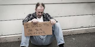 advertising homelessness