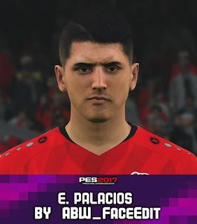 PES 2017 Faces Exequiel Palacios by ABW