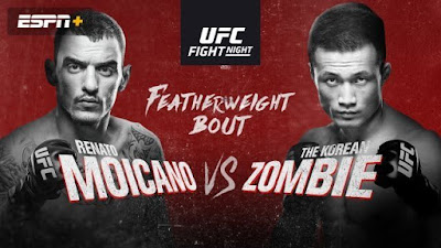 Ver UFC Fight Night: Moicano vs Korean Zombie En vivo Español Online