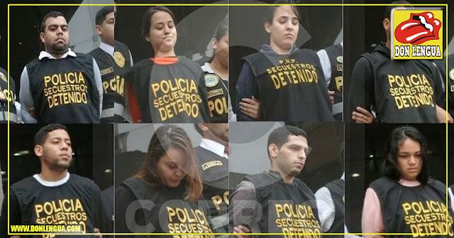 Se conocen detalles de los 8 venezolanos que conformaban banda de secuestradores en Perú