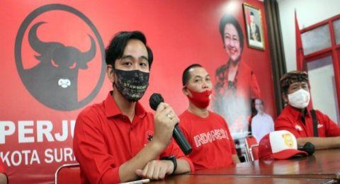 Calon Wali Kota Solo Gibran Rakabuming Raka senang dapat dukungan dari Gerindra. Gibran mengaku menerima amanah dari Ketua Umumnya, Prabowo Subianto
