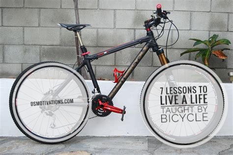 7 lessons to live a life taught by bicycle.