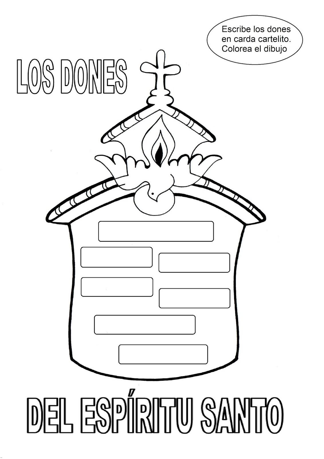 El Rincón De Las Melli Juego Los Dones Del Espíritu Santo