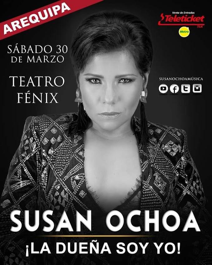 Susan Ochoa en Arequipa - 30 de marzo
