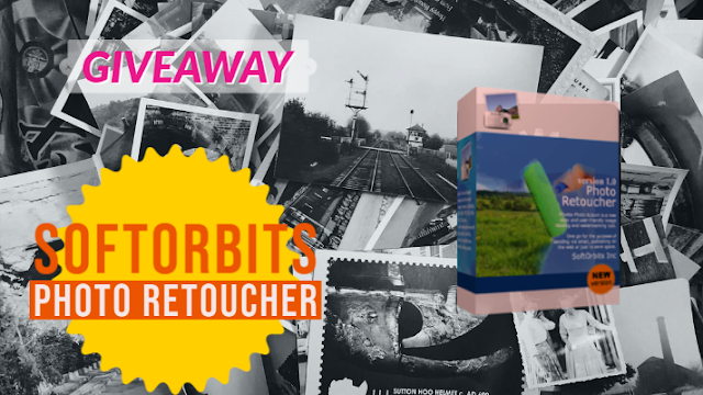 Giveaway: SoftOrbits Photo Retoucher for FREE