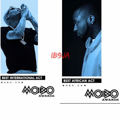 Wizkid deals heavy blow on Davido, snatches Mobo International Award 2017