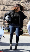 Priyanka Chopra in a Stunning Black Net Top shooting for Quantico 3 ~  Exclusive Galleries 022.jpg