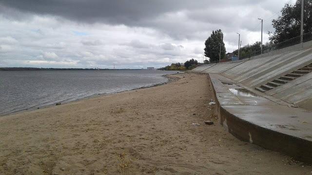 Пляж АЦКК города Астрахань