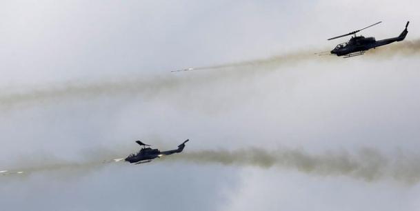 AGEN BOLA - Akan Tampil Dalam HUT TNI Ke-72 Heli Apache