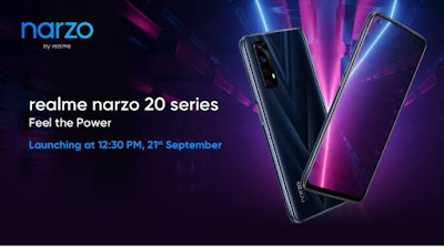 Realme Narzo 20, Narzo 20A, Narzo 20 Pro Price in india - Full Specification