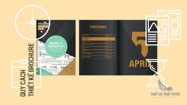 Quy cách thiết kế brochure