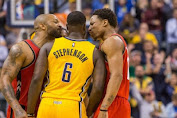 Lance Stephenson takes layup on the Raptors Sparks scuffle defeat