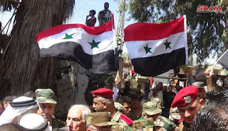 Daraa city cleared of terrorism