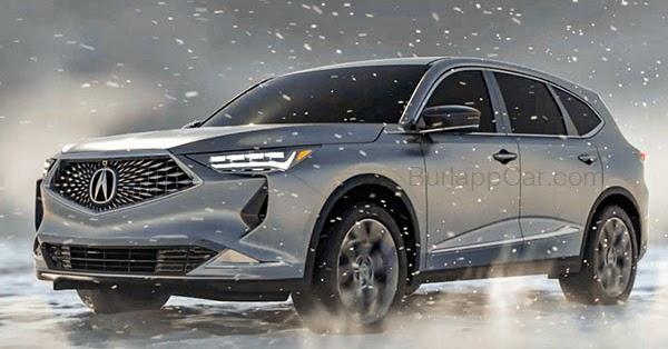 Acura Tlx Hybrid >> Burlappcar: 2020 Acura MDX